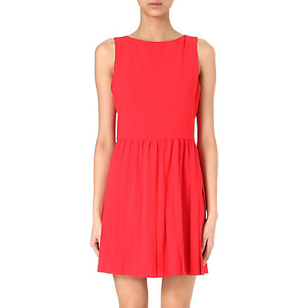 ALICE & OLIVIA Shanna dress (Red