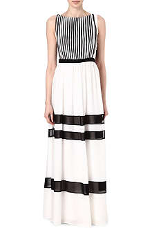 ALICE & OLIVIA Rae panelled dress