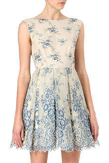 ALICE & OLIVIA Fila lace dress
