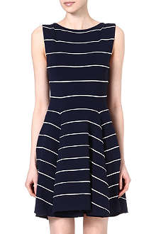 ALICE & OLIVIA Ottoman flared dress