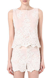 ALICE & OLIVIA Lace top