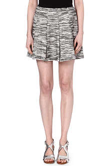 ALICE & OLIVIA Davis pleated mini skirt
