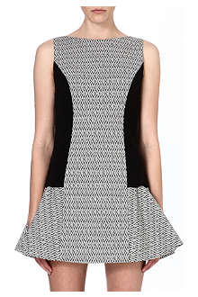 ALICE & OLIVIA Geometric printed dress