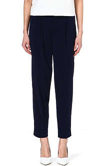 ALICE & OLIVIA Loose-fit crepe trousers