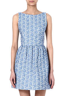 ALICE & OLIVIA Lillyanne jaquard dress