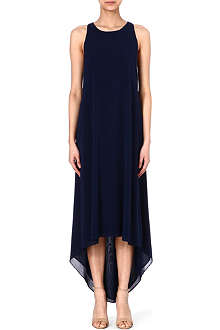 ALICE & OLIVIA Silk-blend dress
