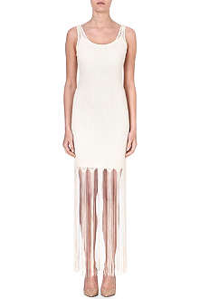 ALICE & OLIVIA Embellished jersey dress