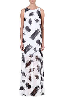 ALICE & OLIVIA Print monochrome dress