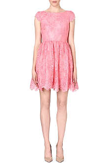 ALICE & OLIVIA Floral lace dress