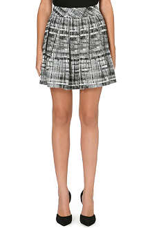 ALICE & OLIVIA Kayla box pleat skirt