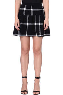 ALICE & OLIVIA Kimbra drop waist skirt
