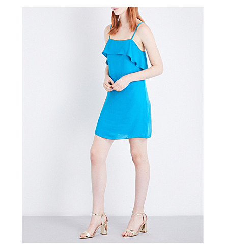 ALICE & OLIVIA Etta crepe dress (Laguna