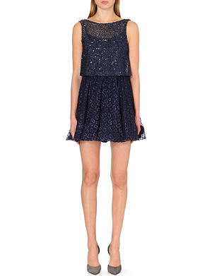 ALICE & OLIVIA Hilta bead-embellished loose dress