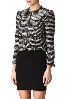 ALICE & OLIVIA Kaelyn tweed jacket