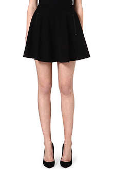 ALICE & OLIVIA Zip-detailed skirt