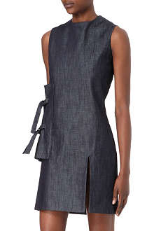 JW ANDERSON Side-panel denim shift dress