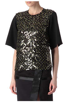 EUDON CHOI Brahms sequin top