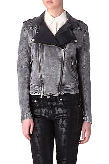 KARL Jovanna denim biker jacket