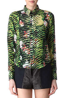 KENZO Jungle-print shirt