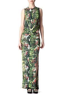 KENZO Jungle-print maxi dress