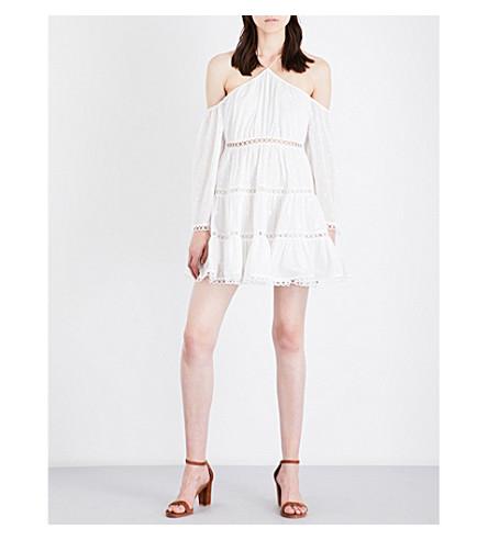 ZIMMERMANN Jasper cotton dress (White