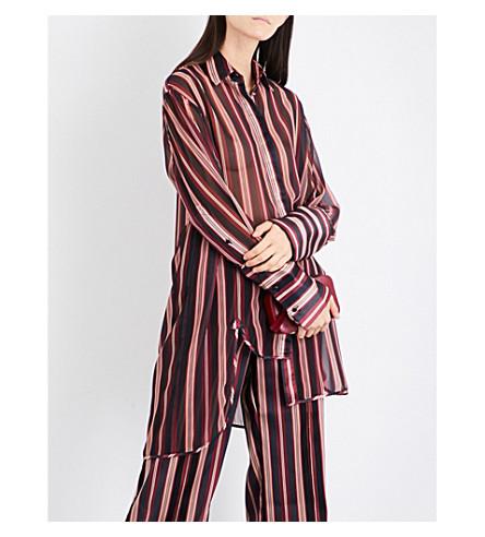 ZIMMERMANN Folly Dapper striped georgette shirt (Stripe
