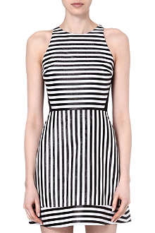 RICHARD NICOLL Striped racerback mini dress