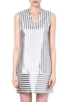 RICHARD NICOLL Cotton-blend shift dress