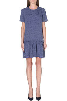 RICHARD NICOLL Dropped peplum-hem dress