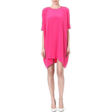 RICHARD NICOLL Stella crepe-de-chine dress (Pink