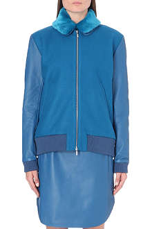RICHARD NICOLL Melton wool-blend jacket