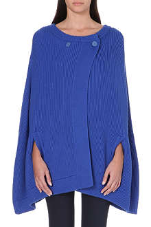 RICHARD NICOLL Knitted wool cape