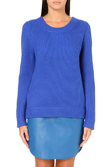 RICHARD NICOLL Fisherman knit jumper