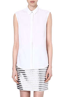 RICHARD NICOLL Sleeveless cotton shirt