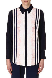 MOTHER OF PEARL Keres printed silk shirt