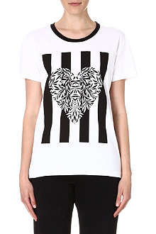 MOTHER OF PEARL Liber heart-print t-shirt