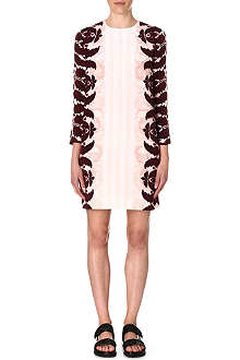 MOTHER OF PEARL Edie printed silk dress