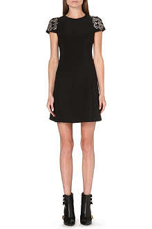 VERSUS Shoulder detail jersey dress