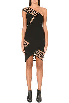 VERSUS X ANTHONY VACCARELLO Donna Tessuto asymmetric dress