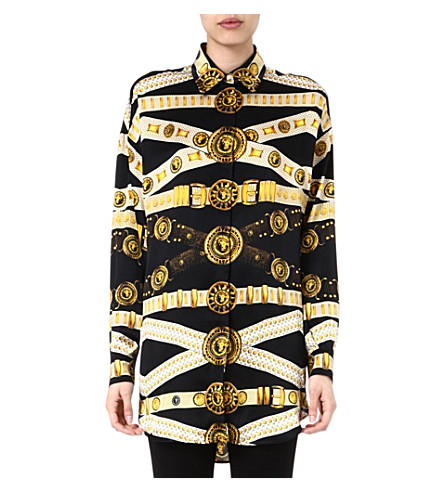 VERSUS Medallion shirt (Black