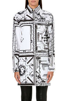 VERSUS X ANTHONY VACCARELLO Printed cotton shirt