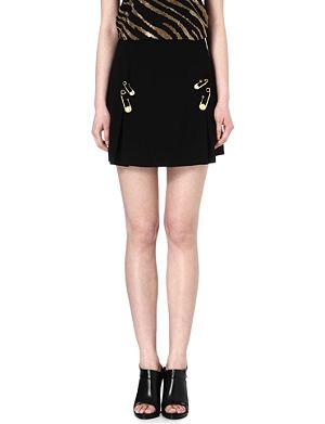 VERSUS Safety-pin skirt