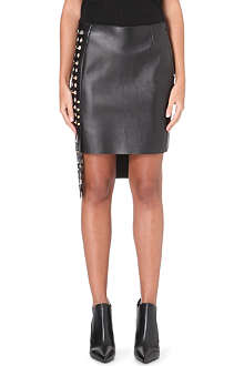 VERSUS X ANTHONY VACCARELLO Gonna Pelle leather skirt