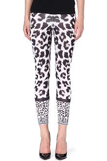 VERSUS Leopard-print leggings