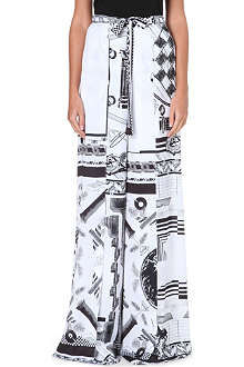 VERSUS X ANTHONY VACCARELLO Flared wide-leg trousers