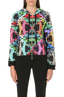 VERSUS Multi-coloured chain hoody