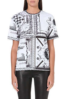 VERSUS X ANTHONY VACCARELLO Printed cotton-jersey t-shirt