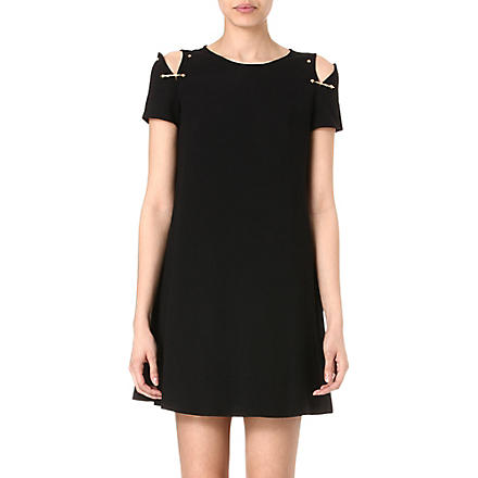 VERSUS Safety pin dress (Black