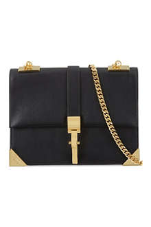 VERSUS X ANTHONY VACCARELLO Gold Ski closure shoulder bag