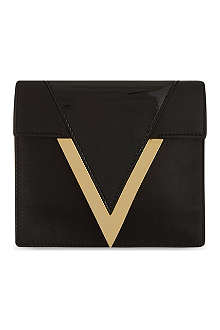 VERSUS X ANTHONY VACCARELLO Borsa Giorno leather clutch